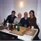 Photo:Phil Betty and me and Rosely. 65th brthday in New York. Phil and Rosely lived and worked there.