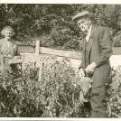 Photo:My great aunt Rose Ryder and great uncle Walter Speed taken at Falmer Road, Woodingdean, Brighton in the 1960s