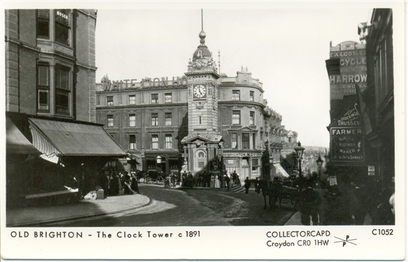 Photo:The Clock Tower, c1891