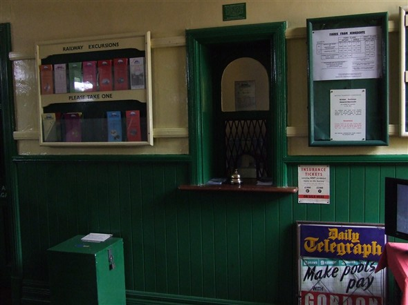 Photo:Kingscote booking hall