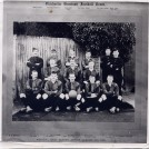Photo:Granddad  Lillywhite (front row centre) Chichester Garrison Football Team Junior League 1901-1902.