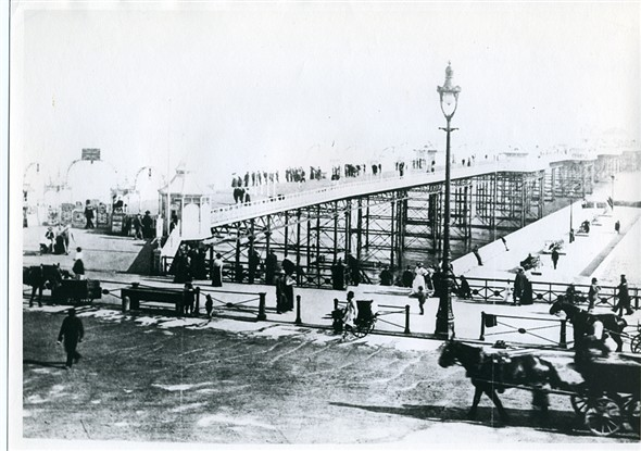 Photo:406 - Palace Pier before the Palace of Fun was built