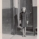 Photo:Me outside 49 Ashton Street Brighton.  - 1940's.