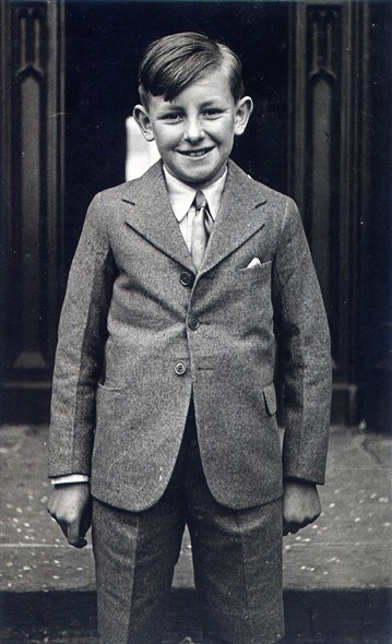 Photo:Charles Coverdale as a boy aged 9
