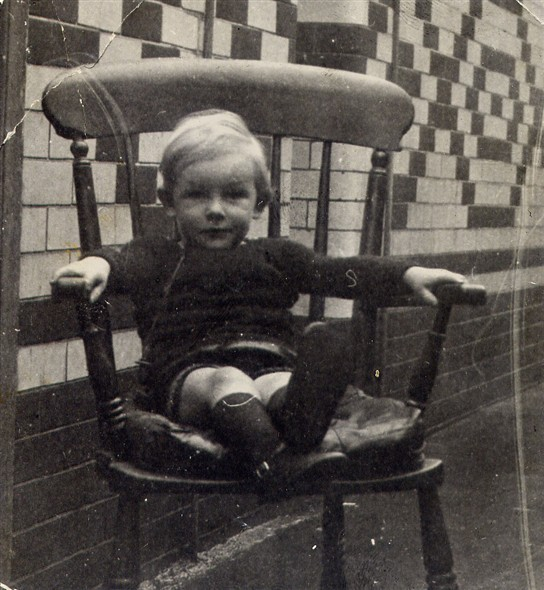 Photo:Charles Coverdale aged 3. Born 22 April 1930