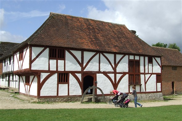 Photo:A medieval house from North Cray, Kent