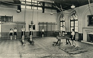 Photo: Illustrative image for the 'The Old Gymnasium' page