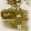 Photo:Mum in Preston Park (late 1920's).