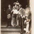 Photo:Mum's cousin, Jim Rowett's wedding to Nellie Westney - Doncaster Race Week (St Leger) when Prince Monolulu invited himself to the 'nuptials'!  (24 August 1931)
