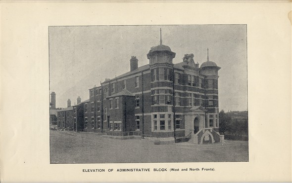 "Photo:Extracted from the booklet ""County Borough of Brighton, Opening of New Sanatorium by His Worship the Mayor (Alderman Sir John Blaker) Thursday October 27th 1898"