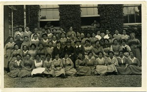 Photo:My gran is 2nd from left in the 2nd row from the front