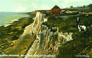 Photo:Cliffs between Brighton and Rottingdean