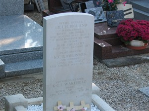 Photo:Picture of memorial stone in Breel cemetery