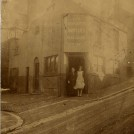 Photo:Harriet Burtenshaw nee Todd, 5/11/1868 with daughter, Gladys Kathleen, 1910 outside The Good Intent, 4 Albion Hill, Brighton, circa 1926