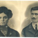 Photo:My maternal grandparents, Maddelena (nee de Marco) and Giuseppe Petrucco, circa early 1900s